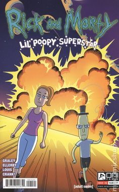 Rick and Morty Lil Poopy Superstar (2016) 1B Oni Press Modern Age Comic Book covers
