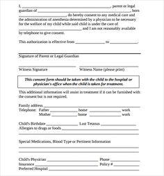 authorization letter pick passport pdf child travel consent ...