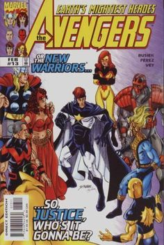 Avengers and The New Warriors by Kurt Busiek and George Perez