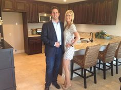 Christina and Tarak from flip or flop