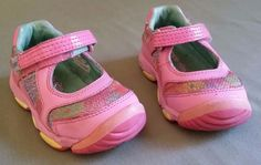 Stride Rite Girl Athletic Mary Jane Sneakers Pink Toddler Size 5M #StrideRite #MaryJanes