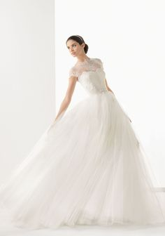 Rosa Clara 2014 Bridal Collection via Belle The Magazine