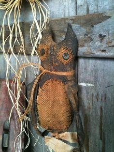 Ji, you can make this owl. I'll help!