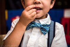 Washington Park Wedding | Ring bearer bowtie | Denver wedding photographer | J La Plante Photo