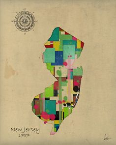 New Jersey is the most densely populated state.