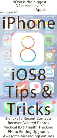 Apple iOS8 Tips and Tricks #iOS8 via @bludlum