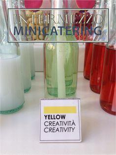 Catering con servizio food design e setting, per  MORELLATO Colours Boutique.  #coloursjewels #intermezzominicatering