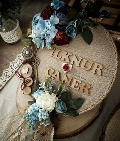 This Pin was discovered by Atö Engagement Decorations, Wedding Decorations, Ring Holder Wedding, Marriage Decoration, Ethereal Wedding, Burlap Crafts, Wedding Arrangements, Wedding Gifts, Backdrops