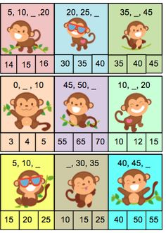 Ik heb een spelletjes ontwikkeld voor de jongste leerlingen zodat ze kunnen oefenen met het tellen met sprongen. Je kan het spel op verschillende manieren inzetten : tijdens hoekenwerk/ als sneller… Math Games For Kids, Preschool Activities, Preschool Learning, Teaching Math, Basic Math Worksheets, Winnie The Pooh Drawing, Math School, 2nd Grade Math, Math Classroom