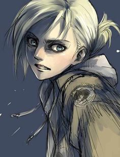 The beautiful Annie Leonhardt