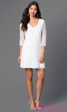 Short Ivory Lace As U Wish Dress Style: AS-i342323c7