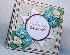 80 urodziny Edmunda/Kartka urodzinowa/Birthday card