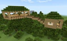 Minecraft Tree House