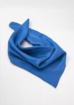Königsblauesblaues Damentuch