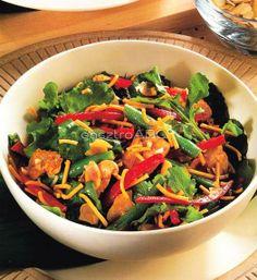 Meleg currys csirkesaláta   Receptek