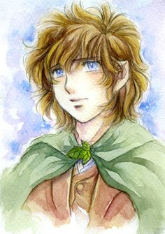 Frodo. Art by Mucun