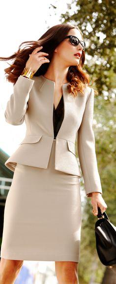 Smart, classic suit.