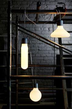 Form pendant lights design house, Stockholm, Sweden.