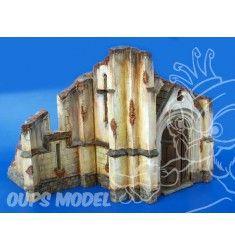 Plus Model 006 Eglise en ruine 1/35