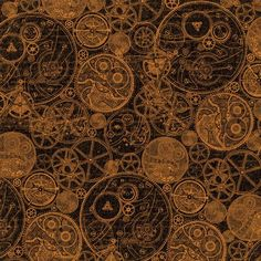 """The front page of """"Clockworks"""" from our new mid-release collection, Steampunk Spells! #graphic45 #halloween #steampunk #sneakpeeks"""