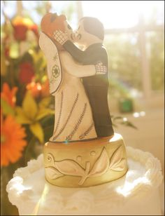 """""""Day of the Dead"""" cake topper - Photo by Jason"""