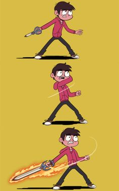 Headcanon that Marco's scissors can turn into a freaking sword.