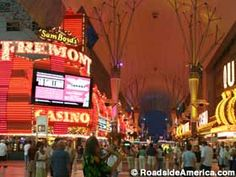 Fremont Street...loved this part of las vegas...a little offbeat but awesome