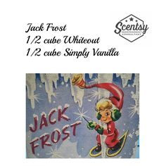 Jack Frost Scentsy Recipe