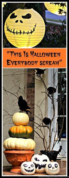 20 Super Cool Homemade Halloween Decorations Pinterest Homemade - fun homemade halloween decorations