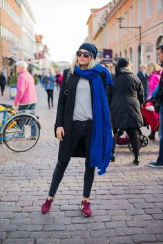 How to wear: Sneaker style via tuva malmo