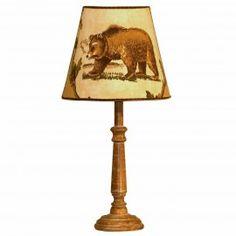 TERNOVA ORSO lampada da tavolo