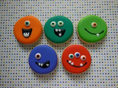 Monster Sugar Cookies  1 Dozen by ParadiseSweets on Etsy, $39.00
