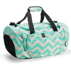 f40371aa74 Runetz Chevron Hot TEAL Blue Gym Bag Sport Shoulder Bag for Men Women Duffel  Large Chevron Teal    See this great product.