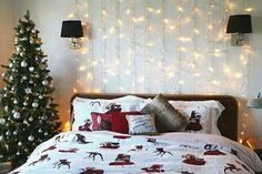 Decoração de Natal no quarto @awesome.seasons