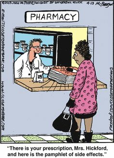 Drug Side Effects Medication Cartoon Informative products on this website.