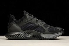 6cfc9cdfb6ac8 Mens adidas Alphabounce Beyond Triple Black Shoes B43682