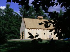 A gallery of barns and other agricultural buildings. post and beam construction, mortise and tenon joinery, luxury horse stables and solid wood timbers. Cargo Container Homes, Storage Container Homes, Container House Design, Awning Shade, American Barn, Agricultural Buildings, Shipping Container House Plans, Barn Living, Post And Beam