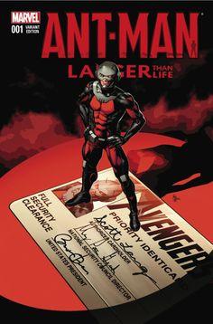 comicsodissey: Ant-Man Larger Than Life #1