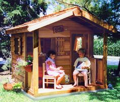 50 Kids Playhouses