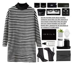 """""""Untitled #2689"""" by tacoxcat ❤ liked on Polyvore featuring Chicnova Fashion, Topshop, philosophy, VIPP, adidas, October's Very Own and NARS Cosmetics"""