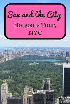 If you're a fan of the TV Show Sex and the City you will love this locations tour