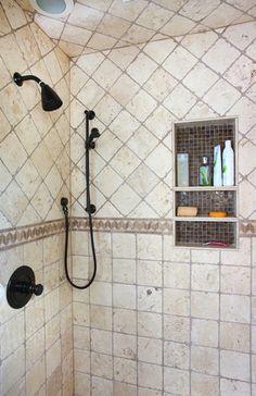 Master Bathroom Shower traditional bathroom - Multiple shower heads