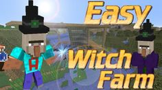How To Make A Xp Farm In Minecraft Bedrock How To Build A Witch Farm In Minecraft Minecraft With Farm Tutorial Get Gapples And Glowstone Http Cstu Io 80f3f9 Minecraft Minecraft Videos Witch