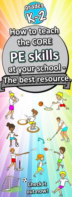 Calling all K-3 teachers!! Everything you need to teach awesome, thrilling and challenging PE lessons to your class