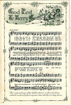 Christmas Carols printable