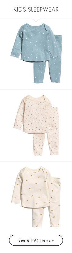 """KIDS SLEEPWEAR"" by littlewhitedaisy ❤ liked on Polyvore featuring baby, activewear, floral activewear, sports activewear, baby girl, intimates, sleepwear, pajamas, short pjs and short pajamas"