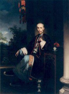 Portrait of the Hong Merchant Howqua (1828) - George Chinnery