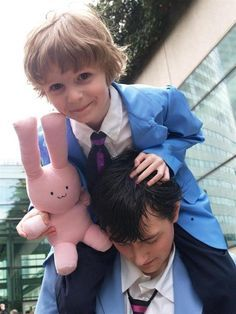 This is one of the cutest cosplay ever. #ouranhighschoolhostclub.