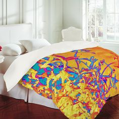 The cool thing about duvet covers....you can switch em out whenever you want! Which means multiple designs!!