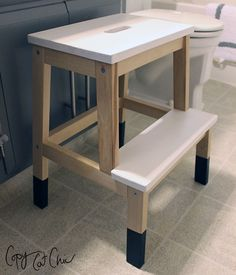 IKEA's Bekvam step stool is cute, portable, and very hackable! Here are 12 Bekvam step stool hacks to show you how adaptable the popular IKEA stool can be! Ikea Hacks, Ikea Hack Kids, Bekvam Stool, Ikea Bekvam, Ikea Step Stool, Step Stools, Ikea Decor, Indian Home Decor, Sofa Furniture